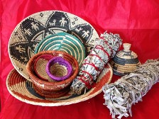 Indian Hemp Basket